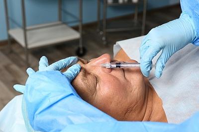 Facial rejuvenation injection for men