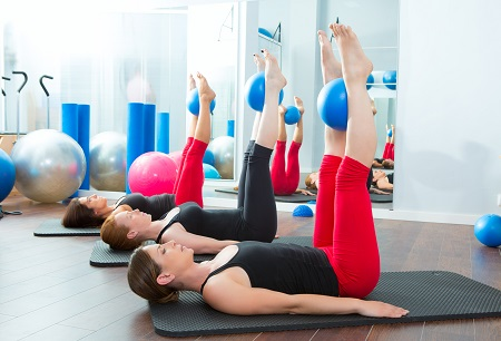 Pilates Class in Hornchurch
