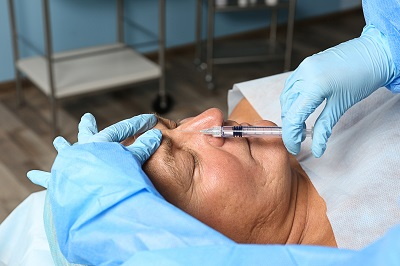Facial rejuvenation injection for men